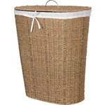 more details on HOME 75 Litres Seagrass Laundry Basket - Natural.