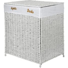 Argos Home Seagrass 120 Litre Laundry Sorter - White