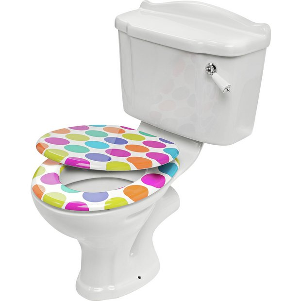Bathroom Accessories Argos : Buy colourmatch toilet seat spots at argos your