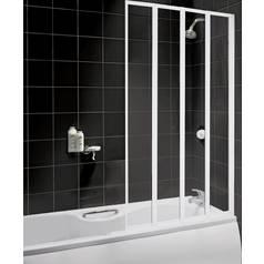 Shower Screens For Baths shower enclosures, screens & trays   bath screens   argos