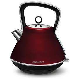 Morphy Richards 100108 Evoke Pyramid Kettle - Red