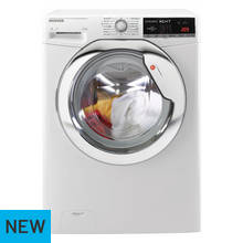 Hoover WDXOA610HCW 9KG / 6KG 1400 Spin Washer Dryer - White