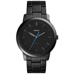 Fossil Minimalist Men's Black Stainless Steel Watch