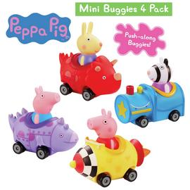 Peppa Pig Mini Buggies - 4 pack