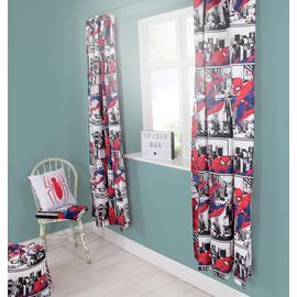 Marvel Spider-Man Curtains - 168 x 137cm