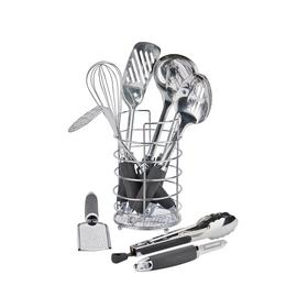 Argos Home 9 Piece Stainless Steel Kitchen Utensil Set
