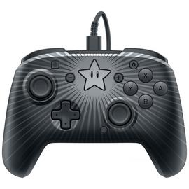 PDP Mario Star Face Off Nintendo Switch Controller - Grey