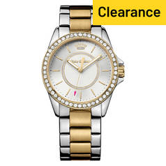 Juicy Couture Ladies' Laguna Two Tone Bracelet Watch