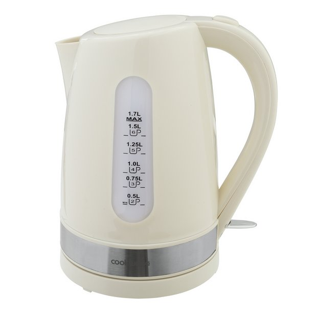 Cookworks Illuminating Kettle White