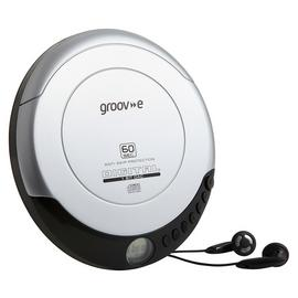 Groove Retro Series Personal CD Player - Silver