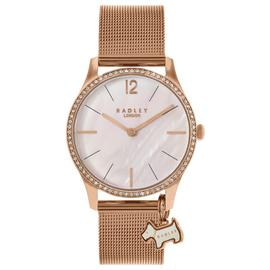Radley Ladies' Millbank RY4288 Rose Tone Mesh Strap Watch