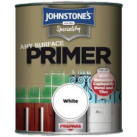 Johnstone's Any Surface Primer Paint 750ml - White