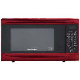 Cookworks 700W Standard Microwave P70B - Red