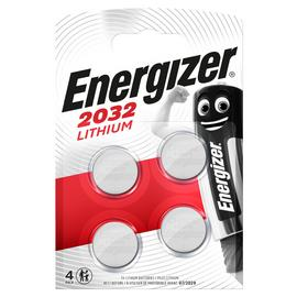 Energizer CR2032 Batteries - 4 Pack