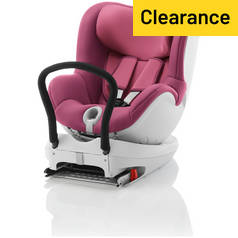 Britax Romer DUALFIX Group 0+/1 Car Seat - Wine Rose