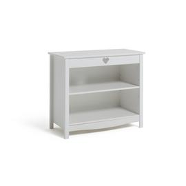Argos Home Mia White 3 Shelf Bookcase