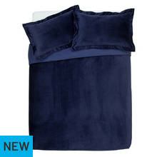 Argos Home Midnight Opulence Velvet Bedding Set - Kingsize