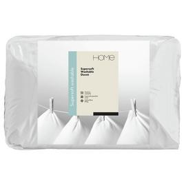 Argos Home Supersoft Washable 13.5 Tog Duvet - Single