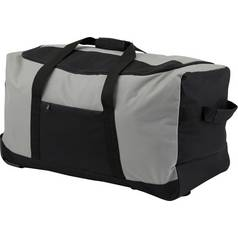 Go Explore Soft Wheeled 60L Grey Holdall - Medium