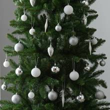 Argos Home 80 Pack of Baubles - Silver