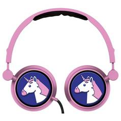 Emoji Swivel On-Ear Headphones - Unicorn