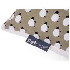 Petface Large Pillow Mattress - Sheep