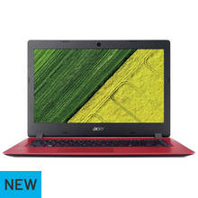 Acer Aspire 1 14 Inch Celeron 4GB 32GB Laptop - Red