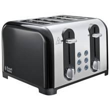 Russell Hobbs 22407 Worcester 4 Slice Toaster - Black