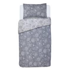 Argos Home Grace Grey Bedding Set - Single