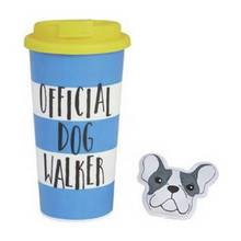 Dog Walker Travel Mug and Hand Warmer