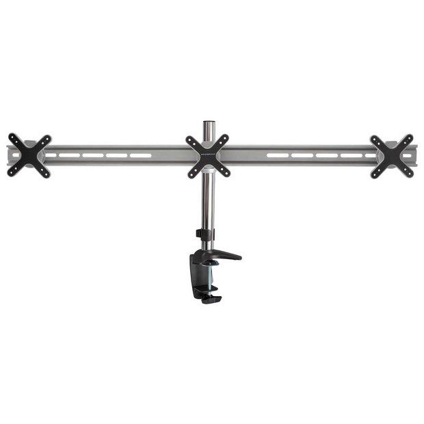 Proper AV Triple 13 to 24 Inch Monitor Desk Mount