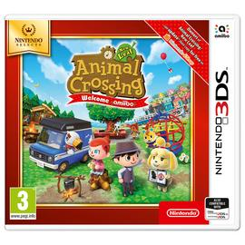 Animal Crossing: New Leaf Welcome Amiibo Selects 3DS Game