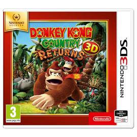 Donkey Kong Country Returns Nintendo Selects 3DS Game