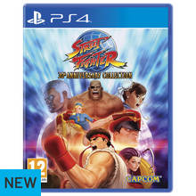 Street Fighter 30th Anniversary Edition PS4 Game