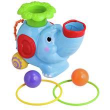 Chad Valley Ball Pop Elephant