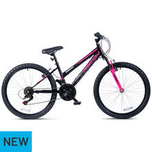 Piranha Frenzy 24 Inch Front Suspension Kids Bike