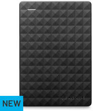 Seagate Expansion 500GB USB 3.0 Portable Hard Drive - Black