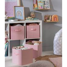 Argos Home Pack of 4 Canvas Boxes