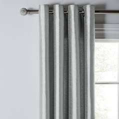 83f8a63ddd Argos Home Faux Silk Lined Eyelet Curtains