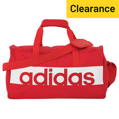 Adidas Linear Small Holdall and Gym Sack - Pink