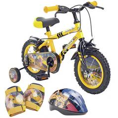 Pedal Pals 12 Inch Digger Kids Bike and Accessories Bundle