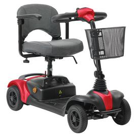 Strider 2A Lightweight Mobility Scooter - Red