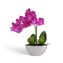 Argos Home Artificial Large Pink Orchid Arrangement