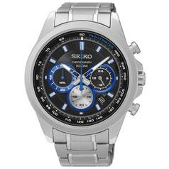 Seiko Men's Stainless Steel Chronograph Sports Watch