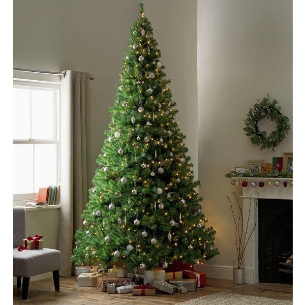 Buy Argos Home 10ft Christmas Tree - Green   Christmas trees   Argos