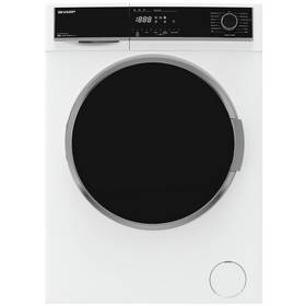 Sharp ES-HFH814QW3 8KG 1400 Spin Washing Machine - White
