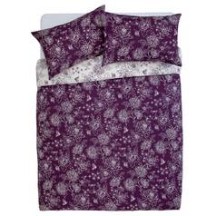 Argos Home Grace Plum Bedding Set - Double