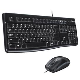 Logitech MK120 Wired Mouse and Keyboard Deskset