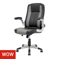 Argos Home Dexter Gas Lift Adjustable Office Chair
