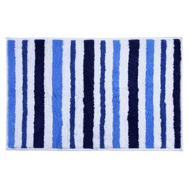 Argos Home Striped Bath Mat - Sea